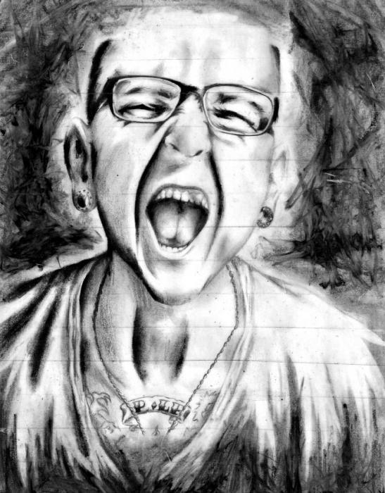 Chester Bennington by TefhiLPark